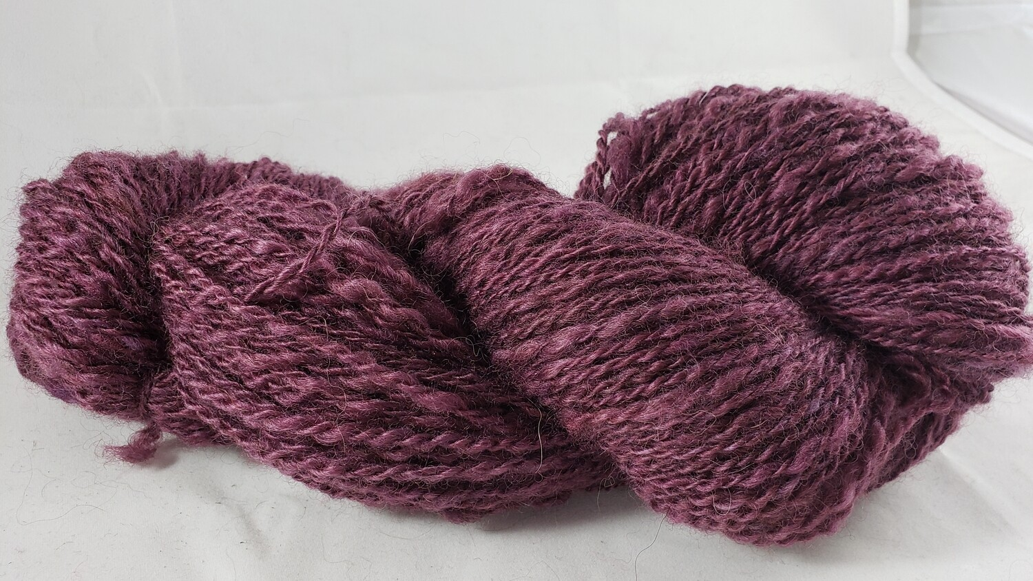 Five Shades of Purple: Three | handdyed & handspun yarn