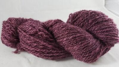 Five Shades of Purple: Three | handdyed & handspun yarn