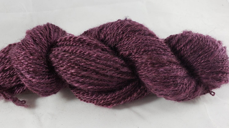 Five Shades of Purple: Four | handdyed & handspun yarn