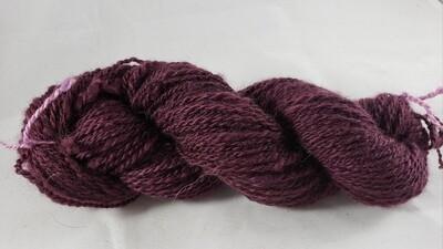 Five Shades of Purple: Five | handdyed & handspun yarn