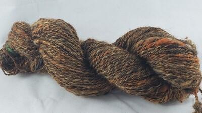 Fools Gold | handdyed & handspun yarn