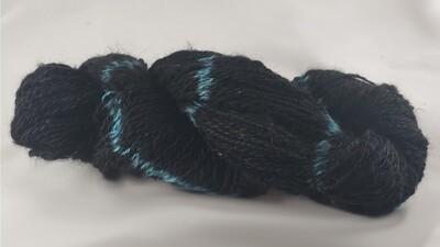 All My Stars Are Blue | handdyed & handspun yarn