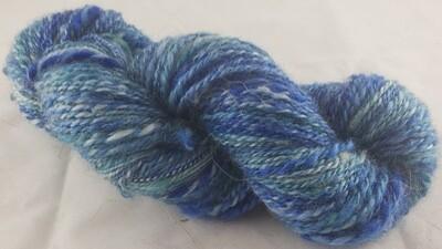 Icy Waters | handdyed & handspun yarn