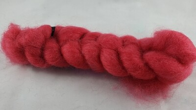 Hot Summer | handdyed fiber braid for spinning