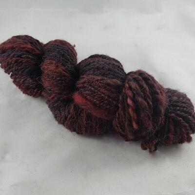 Fiberdog Nat | handdyed & handspun yarn