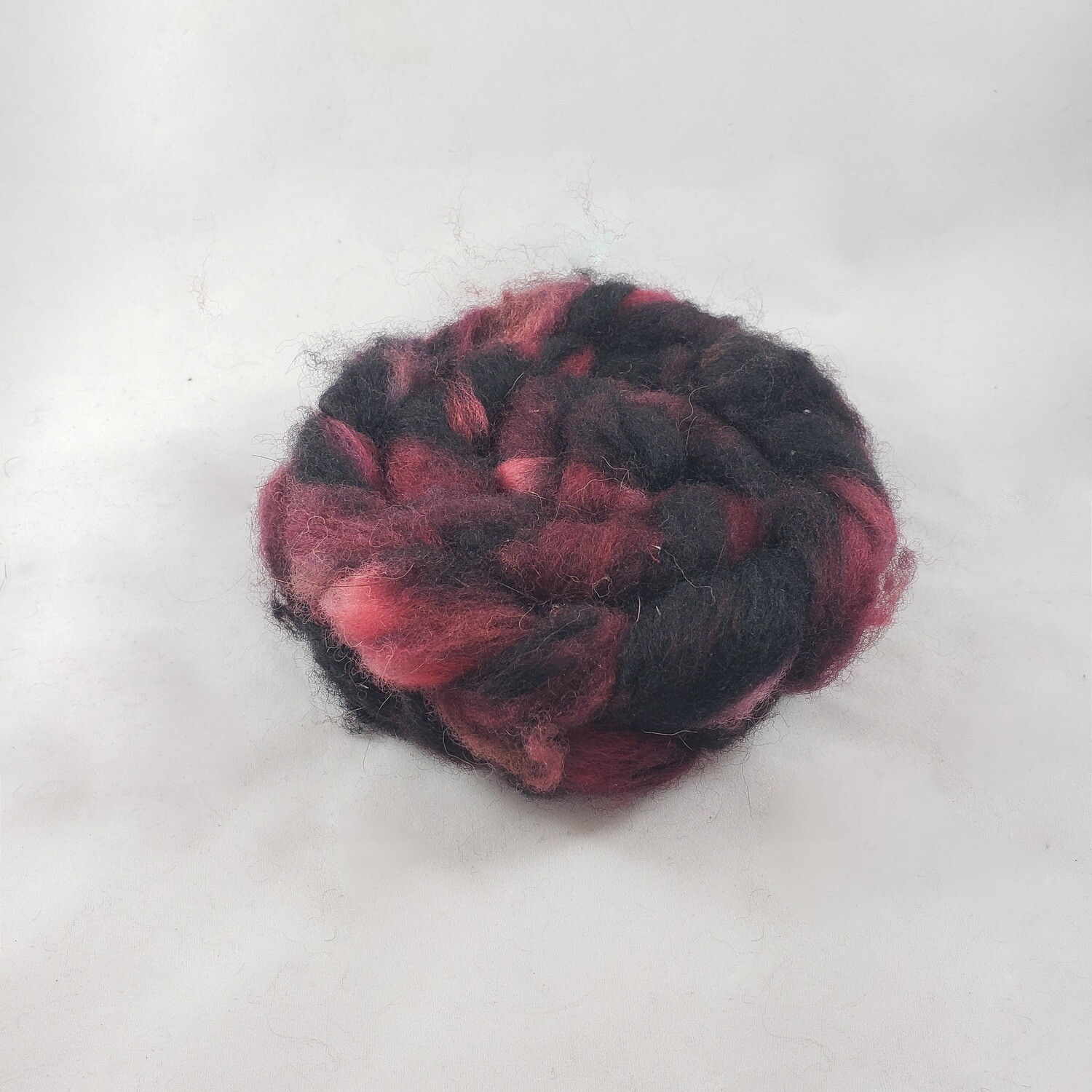Beyond the Veil | handdyed fiber braid for spinning