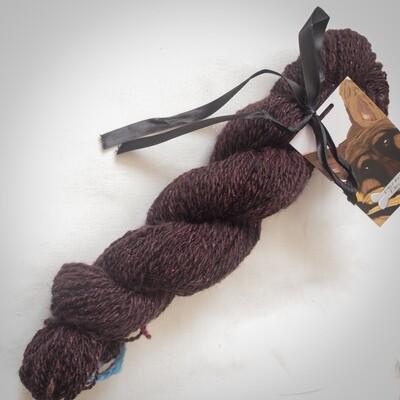 Purple Dragon | handdyed & handspun yarn