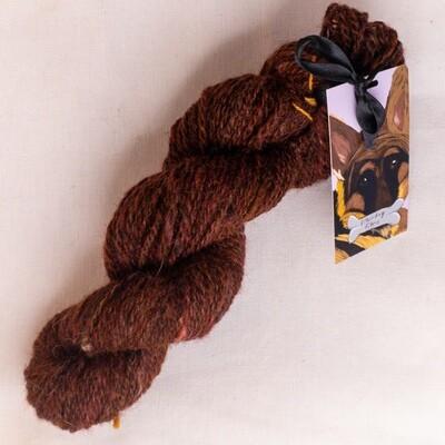 Mahagoni | handdyed & handspun yarn