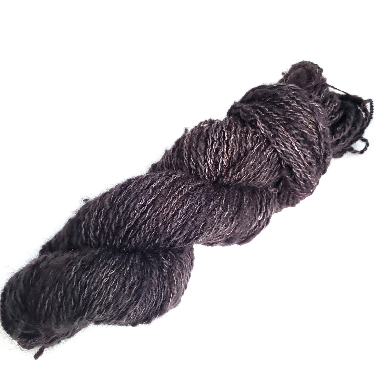 Cats at Night | handdyed & handspun yarn