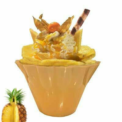 Ananas Becher