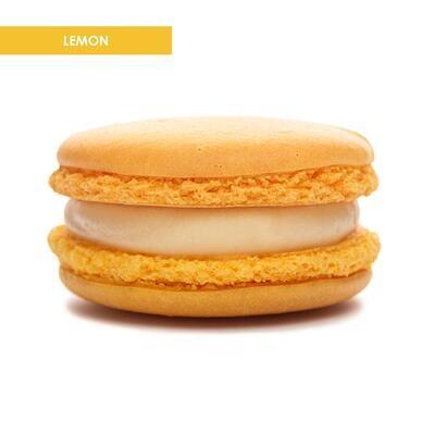 Premium XL Macarons Lemon