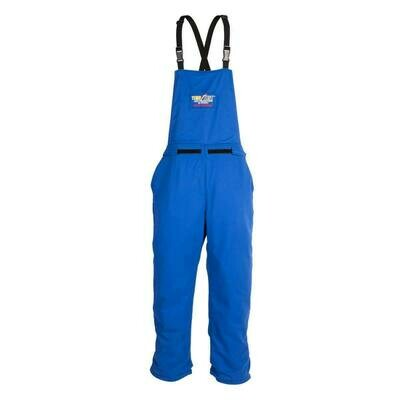 TT11-670 Temp Test™ Arc Protection Bib Overall M Royal Blue Cat 2 Arc 12.4/cal