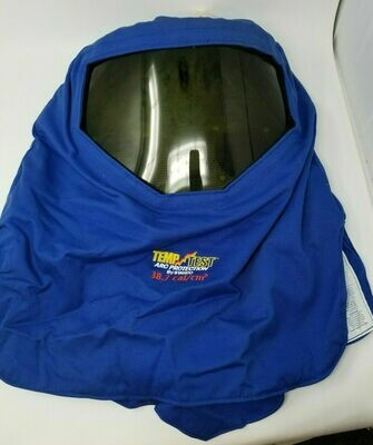 38.7 cal 2-ply 9 oz. Arc Welding Hood: HRC Level 3 Garment TT35712AF Dual Fans