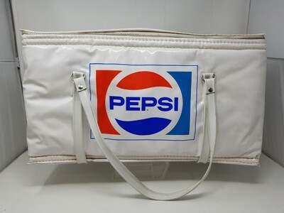 Vintage Pepsi Cooler Soft Side with Inserts