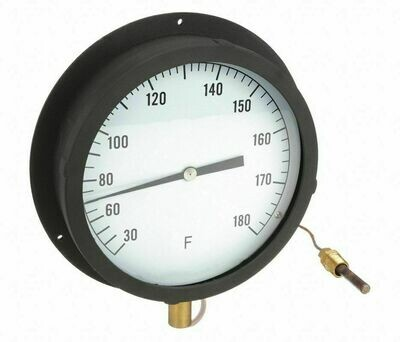Industrial Scientific Panel Mount Thermometer 30f to 180f 8.5
