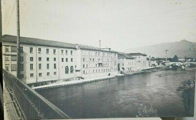 Vintage Stehli Silk Company Italian Factory Photograph Print 38
