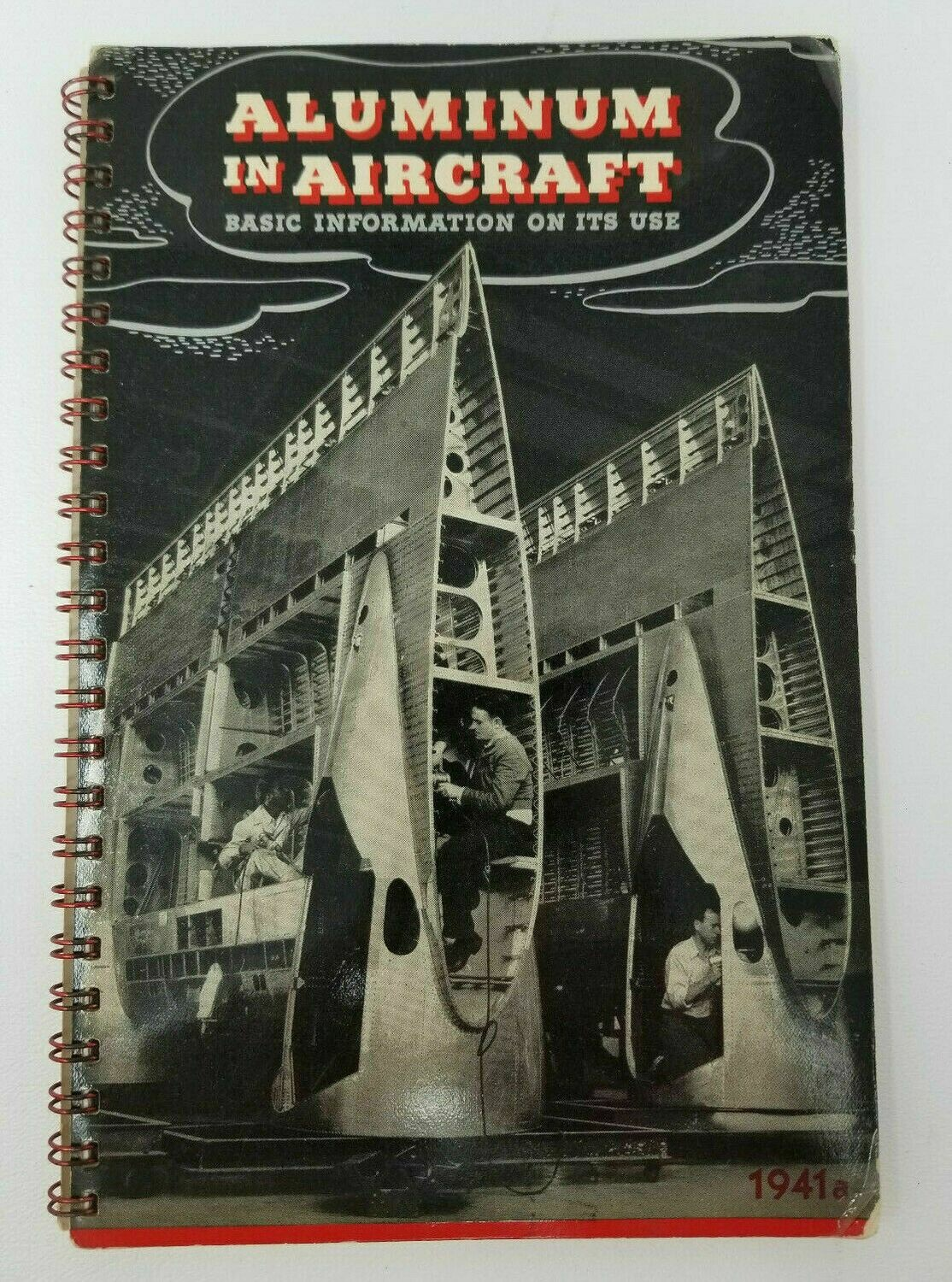 1941 Aluminum in Aircraft Book ALCOA Government Specifications