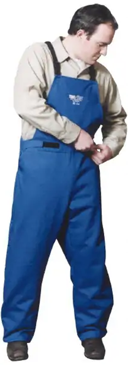 5XL Bib Overalls Temp Test Arc Protection by Stanco 38.7 cal/cm2 HRC Level 3