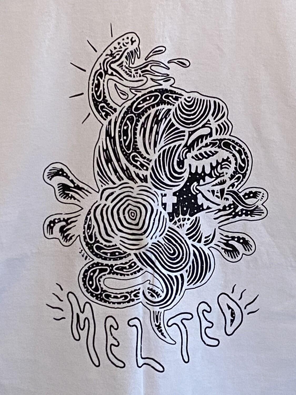 Snake Through Head (White)