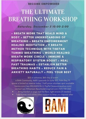 Breathing: The Ultimate Breathing Workshop