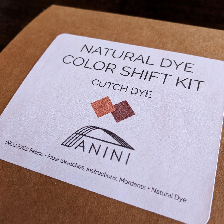 NATURAL DYE - COLOR SHIFT KIT - CUTCH