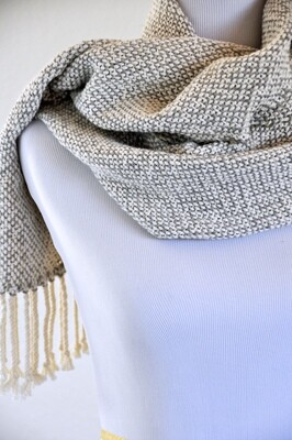 SOFTER-THAN-A-CLOUD - SLATE - HANDWOVEN