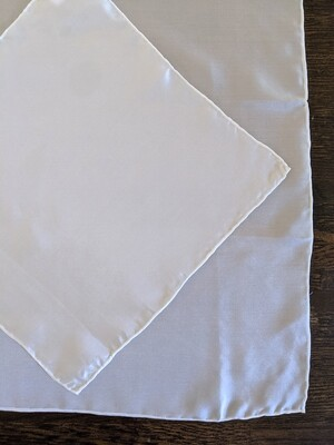 DIY SUPPLY - DYE IT YOURSELF - LUXE SILK SQUARE (SMALL/MEDIUM)