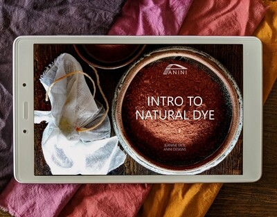 INTRO TO NATURAL DYE - eBook