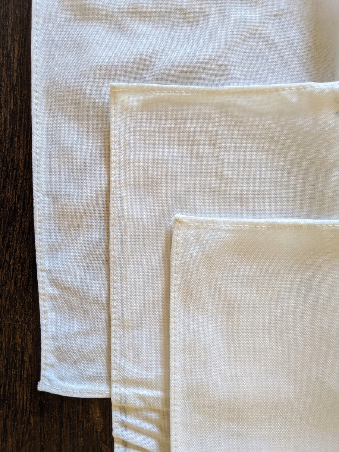 DIY SUPPLY - DYE IT YOURSELF -- A SET OF 3 BAMBOO SCARVES