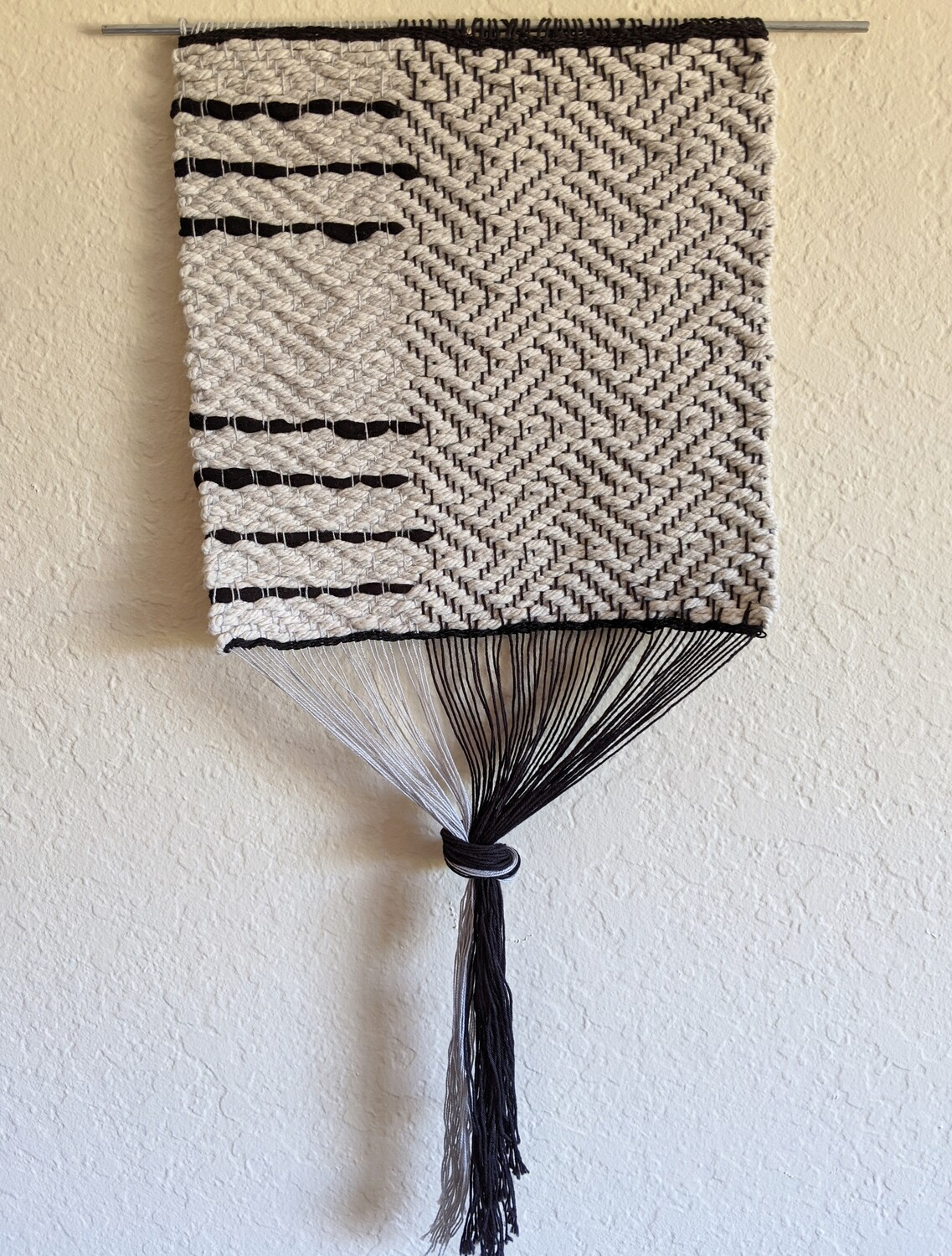 LESSONS COTTON WOVEN WALL HANGING
