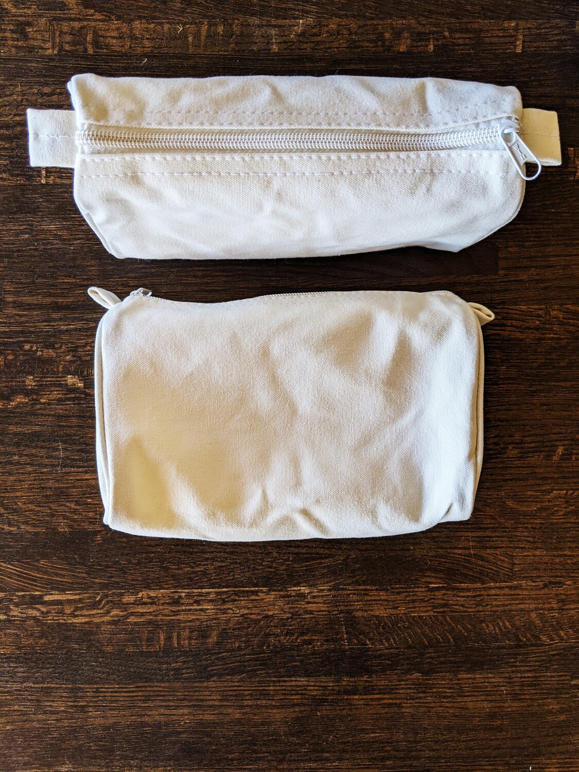 DIY SUPPLY - DYE IT YOURSELF - COTTON CANVAS POUCH