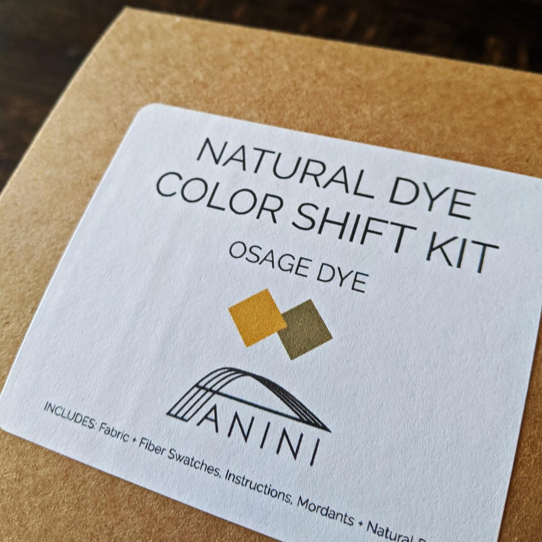 NATURAL DYE - COLOR SHIFT KIT - OSAGE