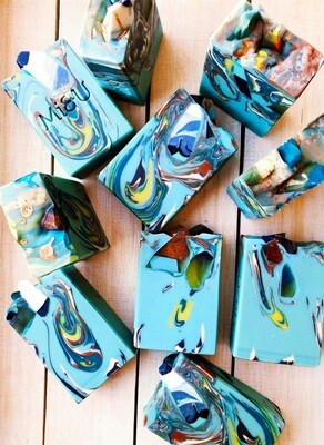 Turquoise & Amber stone