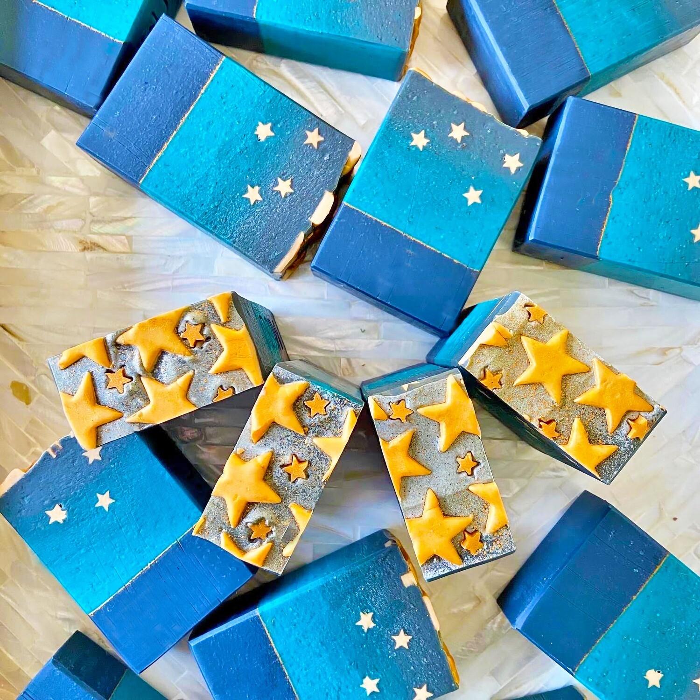 Starry Night Loofah Scrub