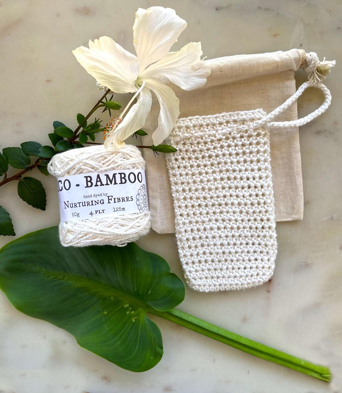 Mi&U bamboo soap saver pouch