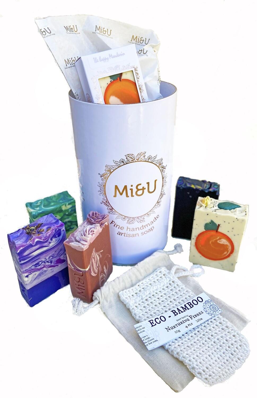 MI&U soap gift tube