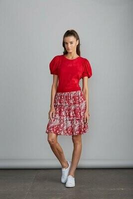 Ansel  Tierd Skirt Cherry Blossom