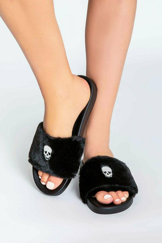 Black Slipper Slide
