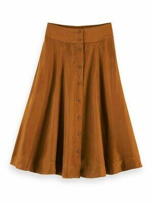 Cupro Blend Skirt