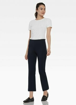 Prince Cropped Flare Leg Pant NAVY