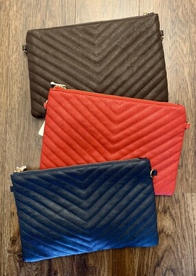 Quilted  YSL clutch