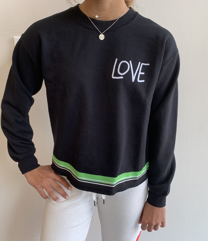 Camp Sweatshirt Love