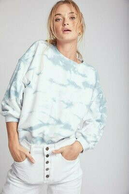 Misha Balloon Sleeve Sweatshirt