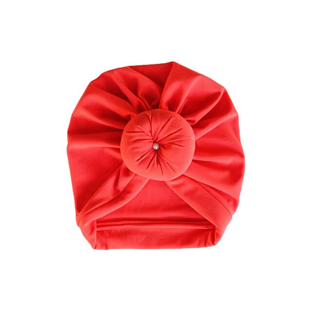 Vermilion Turban with front Knot
