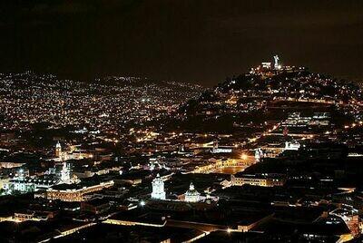 Leyendas de Quito en la noche