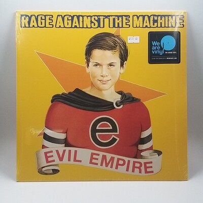 RAGE AGAINST THE MACHINE -EVIL EMPIRE- LP (180 GRAM VINYL)