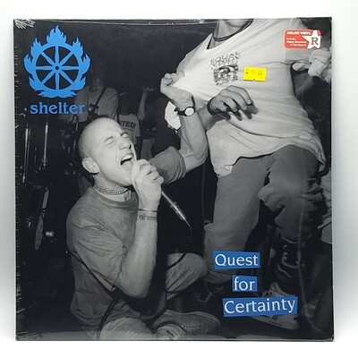 SHELTER -QUEST BY CERTAINTY- LP (BLUE VINYL)