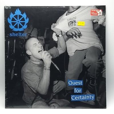 SHELTER -QUEST BY CERTAINTY- LP (BLUE VINYL)