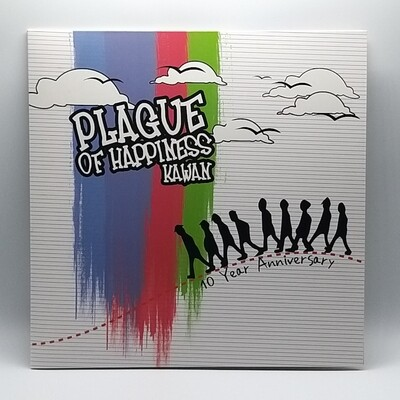 PLAGUE OF HAPPINESS -KAWAN- LP (180 GRAM COLOR VINYL)