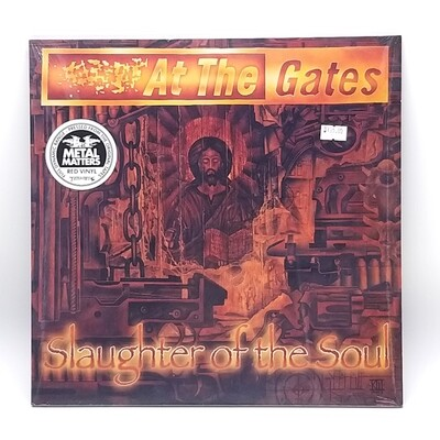 AT THE GATES -SLAUGHTER OF THE SOUL- LP (RED VINYL)